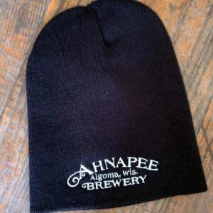 Black Stocking Cap Front