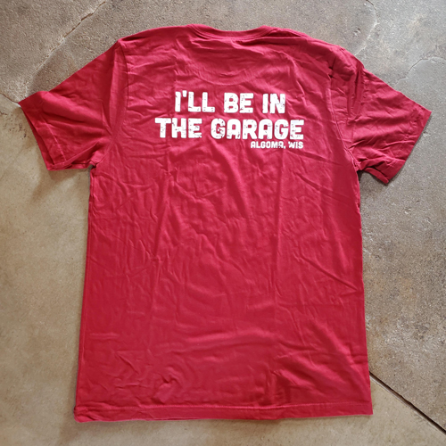 Cranberry Ill Be Tshirt back